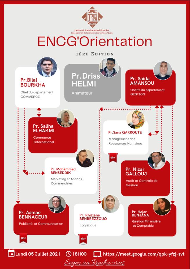 """ENCG'Orientation 2021"
